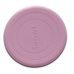 Scrunch-frisbee Silikonowe Frisbee, Pudrowy Róż