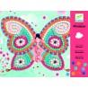 Zestaw artystyczny Mozaiki Motylki, Djeco