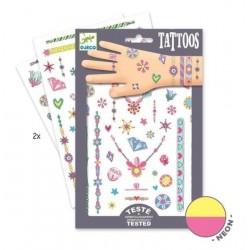 Tatuaże neonowe Klejnoty Jenni, Djeco