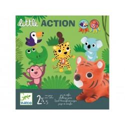 Gra dla Maluchów Djeco Little Action wyzwanie