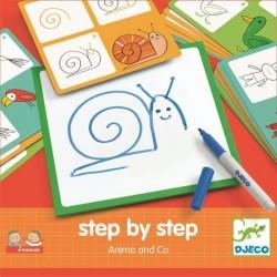 Eduludo Krok po kroku - Zwierzątka, Djeco