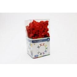 Klocki Incastro Cube R czerwony (60 el.)
