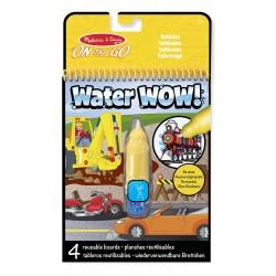 Kolorowanka wodna Water WOW! Pojazdy, Melissa & Doug