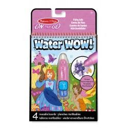 Kolorowanka wodna Water WOW! Wróżki, Melissa & Doug